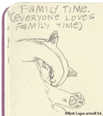 Flossie-family-time