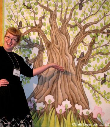 Crazy-lady-w-her-tree