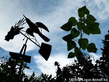Windmill-n-sunflower