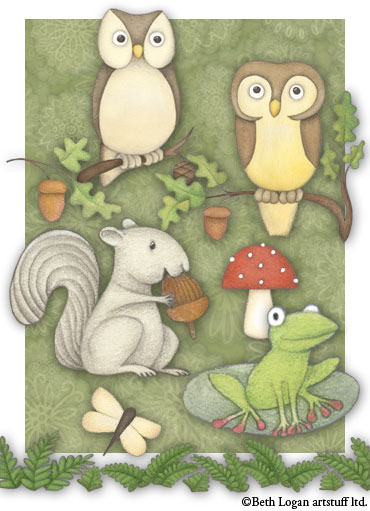 Woodland-critters