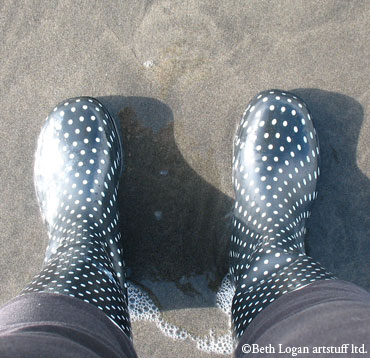 Boots-in-the-surf