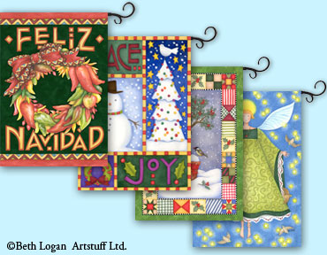 BethLogan-HolidayFlags