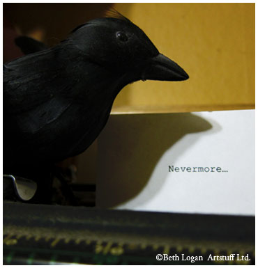 Typewriter-nevermore