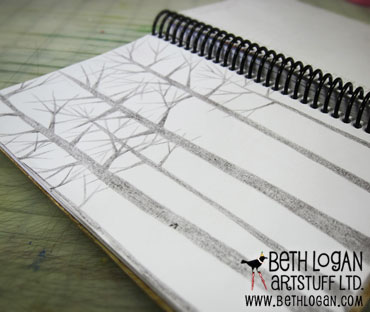 Sketchbook-trees