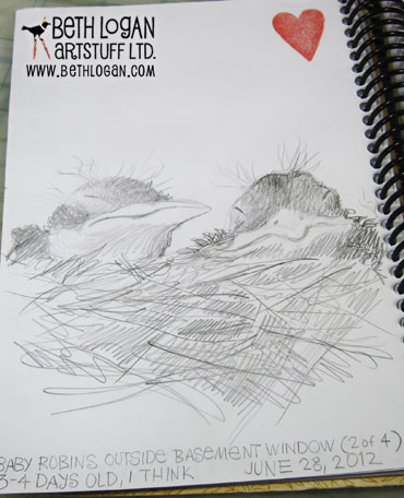 Sketchbook-babies