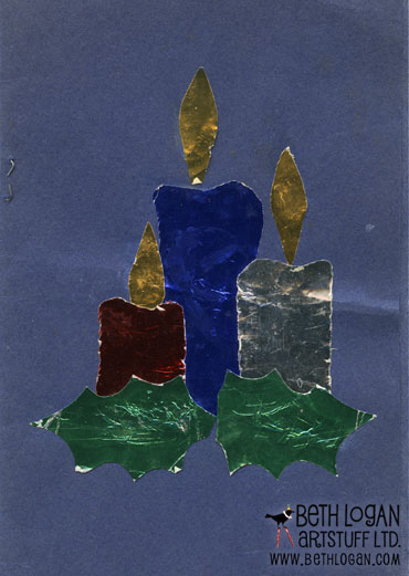 XmasCard1970front