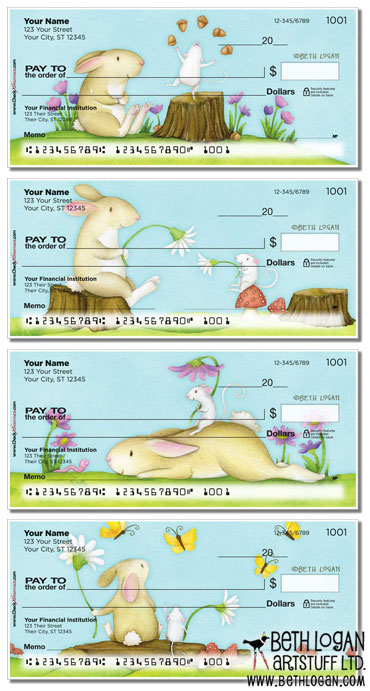Mouse-n-bunny-checks
