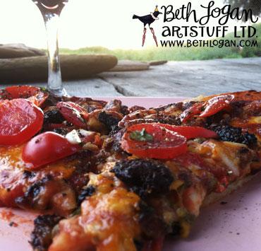 Beach-pizza