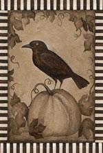 Toland Sepia Crow flag