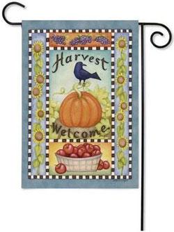 Toland Abundant Harvest flag